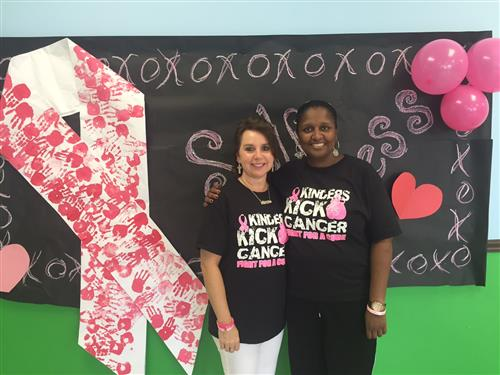 Sheneta Smith at Kinders Kick Cancer Walk