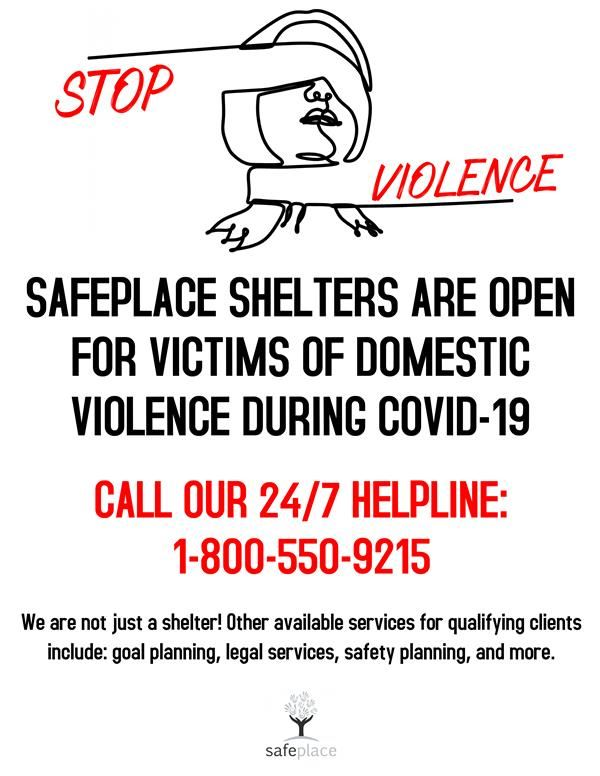 Safeplace Flyer