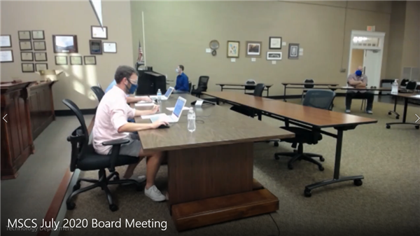 Special Called School Board Meeting July 28th at 12:45pm - Broadcast Live
